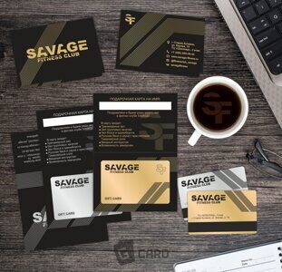 SAVAGE gift card 2